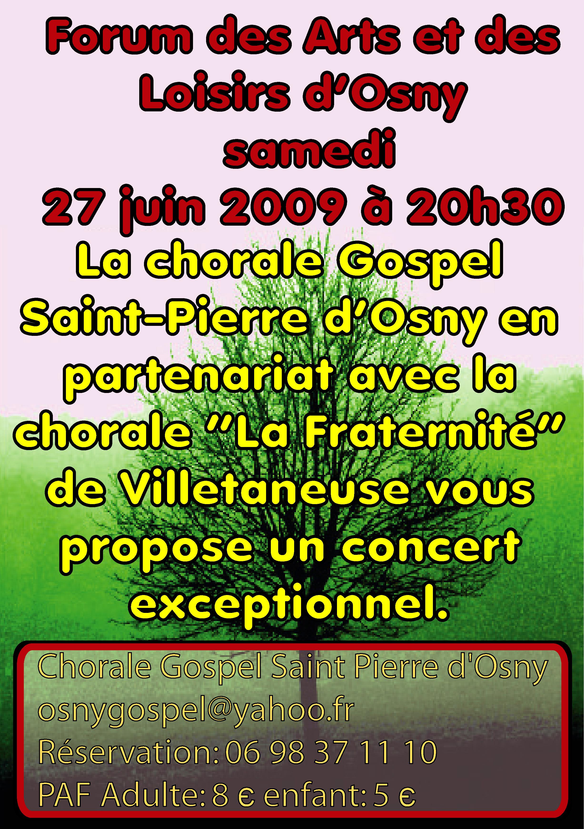 La Chorale Gospel Saint Pierre d'Osny