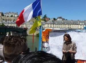Inauguration d'une place chevalier de La Barre à Saint Ouen l'Aumône